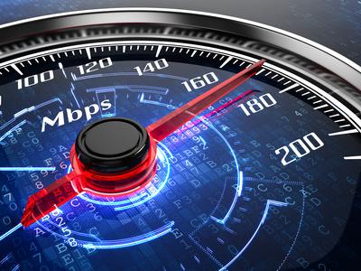 Die richtige Internet Schnelligkeit
