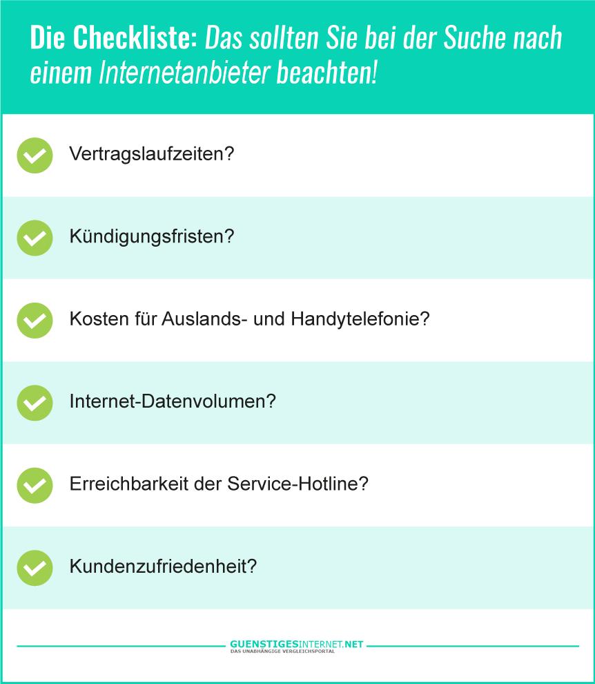 Billiges Internet für Zuhause