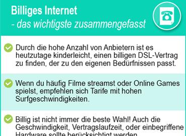 billiges Internet